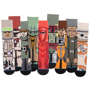 Hot Movie Star Wars Stockings For Adult Men Women Jedi Order Master Yoda Cosplay Cotton Funny Tide Long Star War Socks 1 Pair
